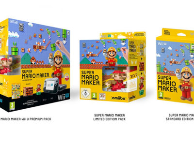 Super Mario Maker contará con tres ediciones diferentes en Europa