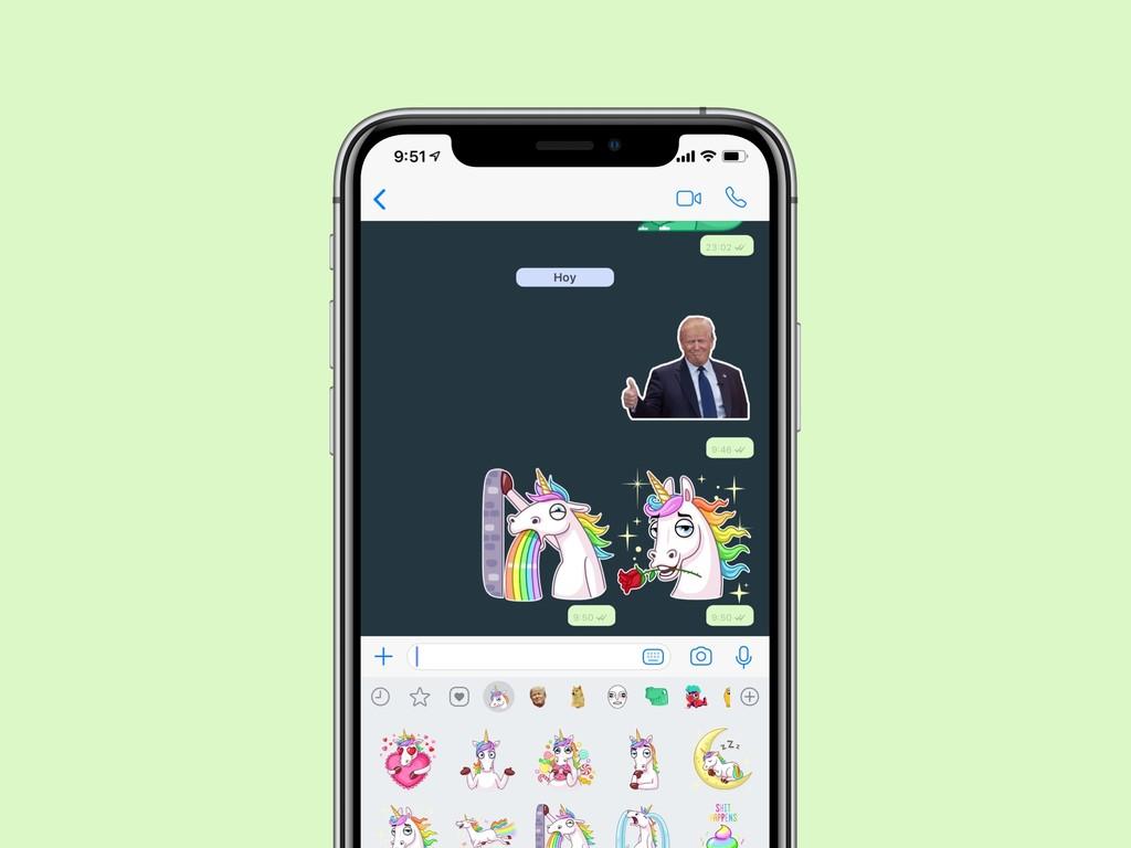 Los mejores stickers para WhatsApp™ en iPhone que puedas descargar gratuitamente