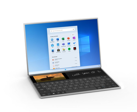Microsoft ofrece más detalles del funcionamiento de la doble pantalla en Windows 10X