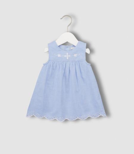 Vestido Bebe Azul Hipercor