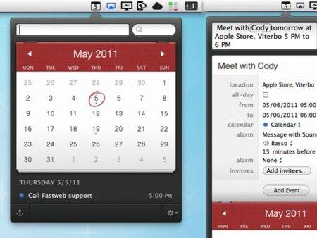 Fantastical, nuevo estilo para una aplicación de calendarios