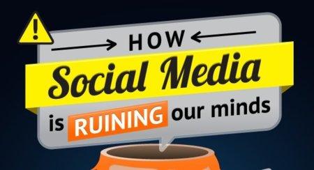"""Cómo las redes sociales """"se cargan"""" tu cerebro, la infografía de la semana"""