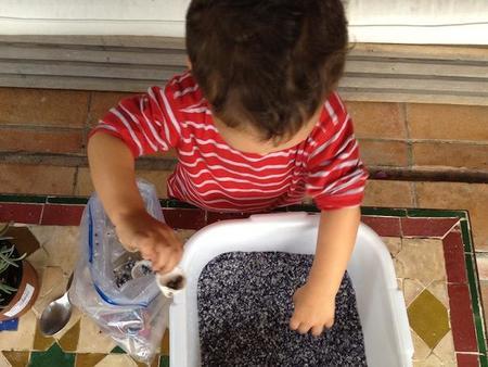 Juegos relajantes para niños: busca el tesoro escondido