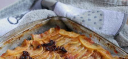 Receta de pastel de solomillo de cerdo con patatas panadera