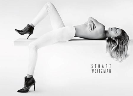 Gisele Bündchen, espectacular como nueva imagen de Stuart Weitzman