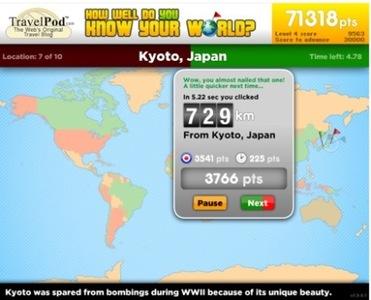 Traveler IQ: juego para aprender geografía