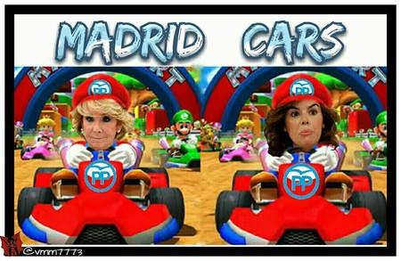 Soraya y Aguirre al volante
