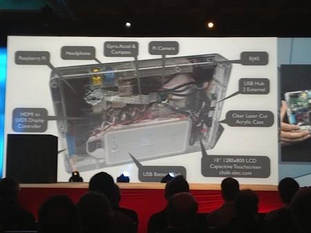 Aquí podemos ver las partes del DukePad