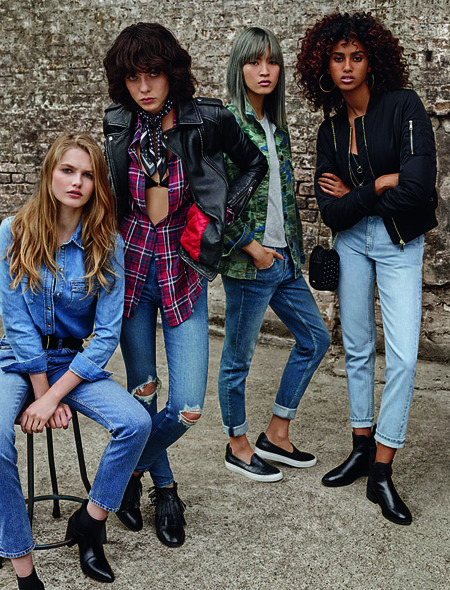 Topshop Denim Campana Top Models 2016 13