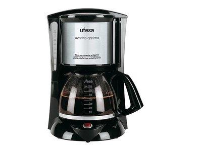 Si no quieres gastar mucho en tu cafetera, tienes la Ufesa Avantis Optima en Amazon a 24,99 euros