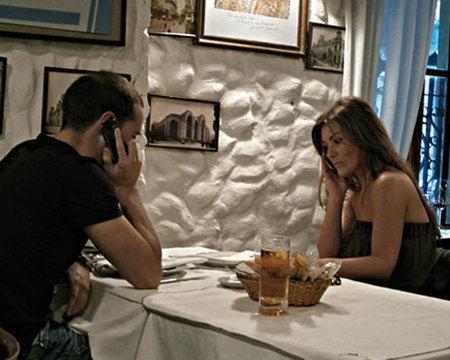 Gonzalo Miró y Amaia Montero