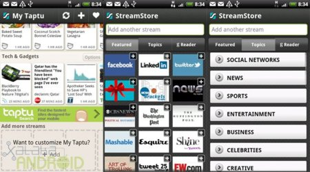 My Taptu: Stream Store