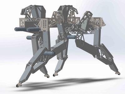 Este perro sigue en pie tras un tropezón, y es robótico