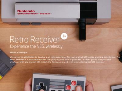 El Retro Controller quiere darle una segunda juventud a tu querida NES. Toca sacarla del cajón