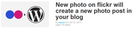 WordPress Recipe IFTTT