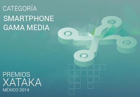 Mejor smartphone gama media, vota por tu preferido para los premios Xataka México 2014