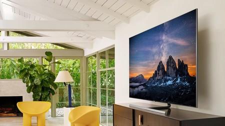 """Smart TV QLED 2019 Samsung QE55Q80R de 55"""" 4K con IA, HDR10+ y compatible con asistentes de voz, de oferta en Mi Electro por 1.579 euros"""