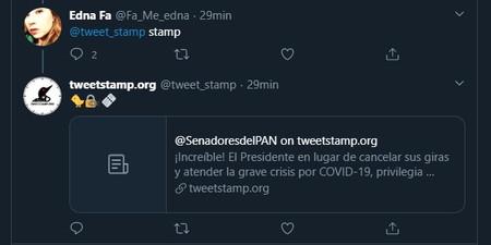 Tweet Stamp