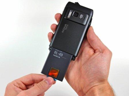 Nokia N8 desmontado por iFixit