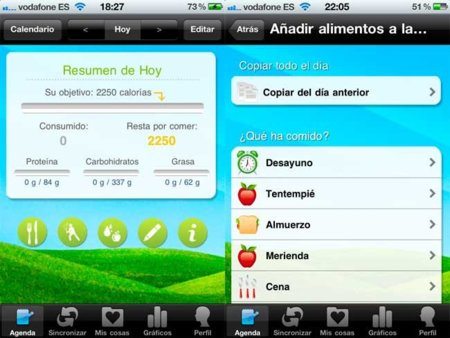 Shape Up: para contar calorías con tu iPhone