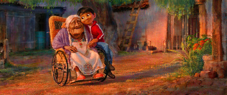 Miguel And Abuelita Concept Art From Coco