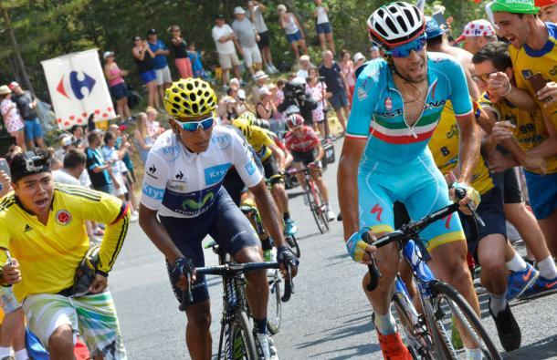 Foto de Nairo Quintana en el Tour de Francia (2/4)