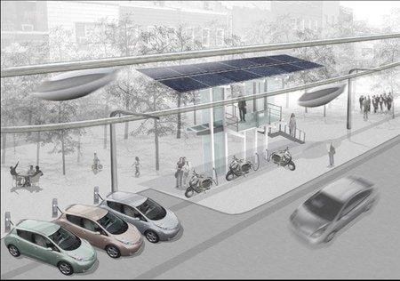 SkyTran, el futuro del transporte urbano