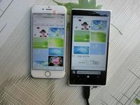 Nuevas fotos del cancelado Nokia McLaren, ahora comparado con un iPhone 6