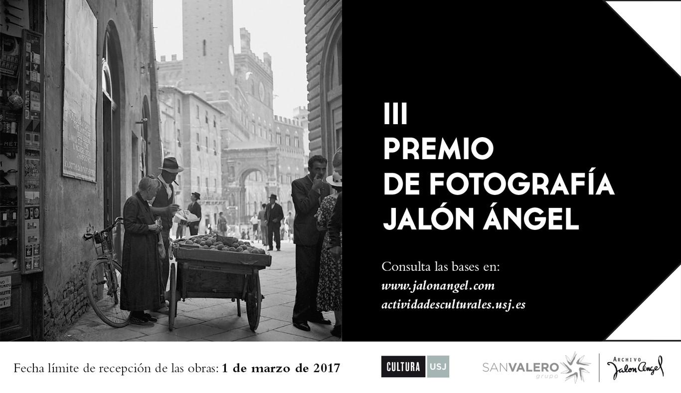 El Archivo Fotográfico Jalón Ángel convoca la III Edición del Premio Fotográfico Jalón Ángel