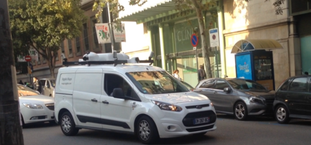El furgón de Apple Maps ha sido visto en el centro de Barcelona y Madrid