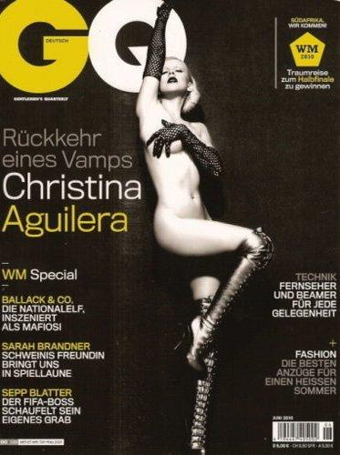 Christina Aguilera se desnuda completamente para GQ Alemania