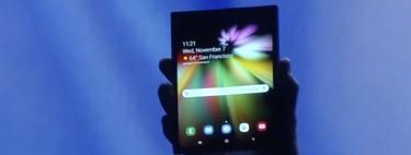 Aquí está el primer dispositivo plegable de Samsung, el cual estrenará el nuevo panel 'Infinity Flex Display'