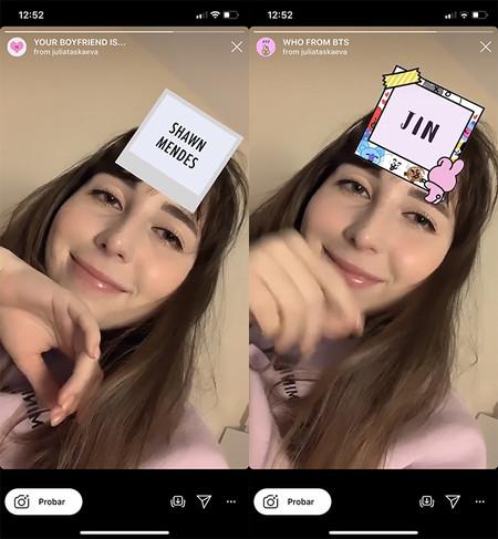 Filtro Quien Es Tu Novio Famoso Y Filtro Bts Para Instagram