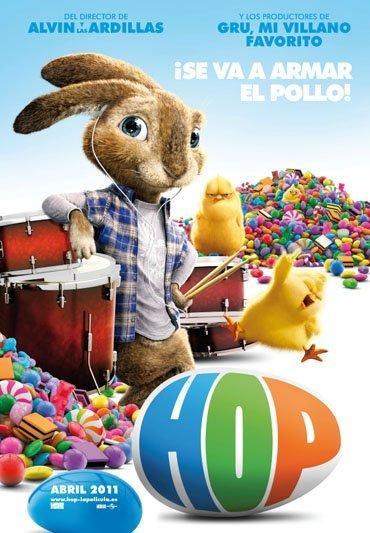 'Hop', cartel y tráiler sobre el conejito de Pascua, con Kaley Cuoco y James Marsden