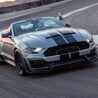 Shelby Super Snake Speedster, un Mustang con más de 800 hp y menos de 100 unidades por los 98 años de Carroll Shelby