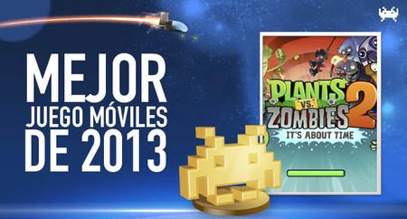 Mejor juego para móviles/tablets de 2013 según los lectores de VidaExtra: Plants vs Zombies 2