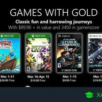 Juegos de Xbox Gold gratis para Xbox One y 360 de marzo 2019