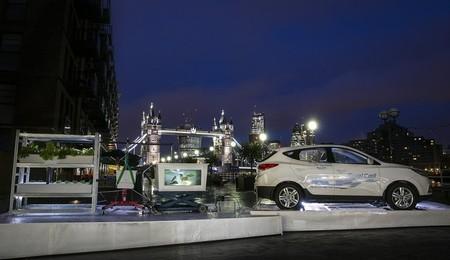 Hyundai presenta en Londres la pila de hidrógeno que mantiene vivo a un ecosistema