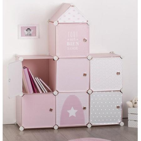 sistemas de almacenaje de habitación infantil