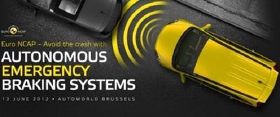 Los vehículos comerciales en Europa vendrán con sistema de frenada autónoma de emergencia de serie