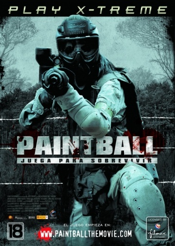'Paintball': cartel y tráiler