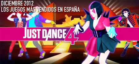 Los juegos más vendidos en España en diciembre 2012: a bailar