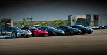 Hyper 5 el video de comparación de los autos más rápidos y exclusivos esta aquí.