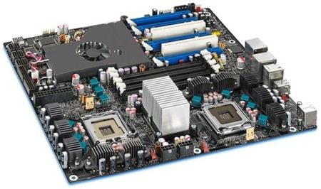 Intel Skulltrail D5400XS, placa ultrapotente para gamers