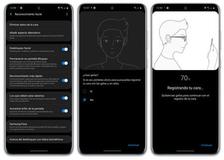 Samsung Galaxy S20 Ultra Biometria Reconocimiento
