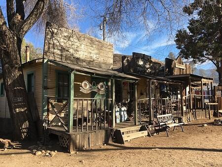 Pueblo Fantasma de Silver City: un destartalado pueblo fantasma compuesto por antiguos edificios de la era minera