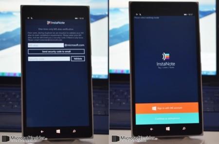 Instanote, la app para capturar notas de voz que Microsoft planea lanzar