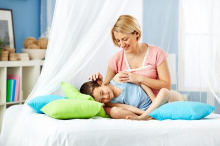 Beneficios de las cosquillas para niños