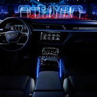 Así es el futurista interior del Audi e-tron: 5 pantallas digitales para el primer coche eléctrico de Audi