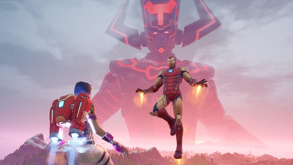 Fortnite vs Galactus: aquí tienes los mejores vídeos del espectacular final de temporada protagonizado por los superhéroes de Marvel